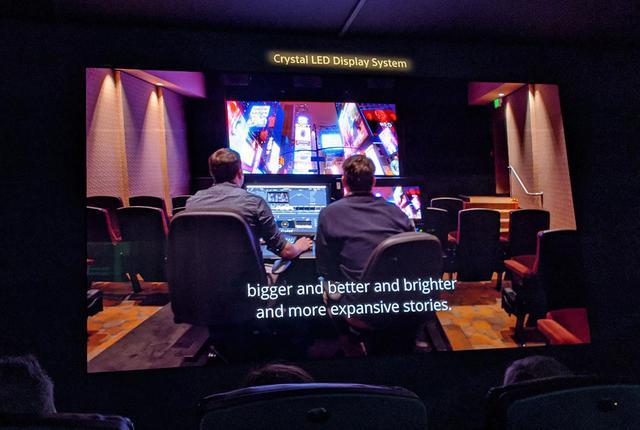 画像: Crystal LEDを見て、グレーディングする。ハリウッドのソニー・ピクチャーズの220インチ/4Kスクリーン