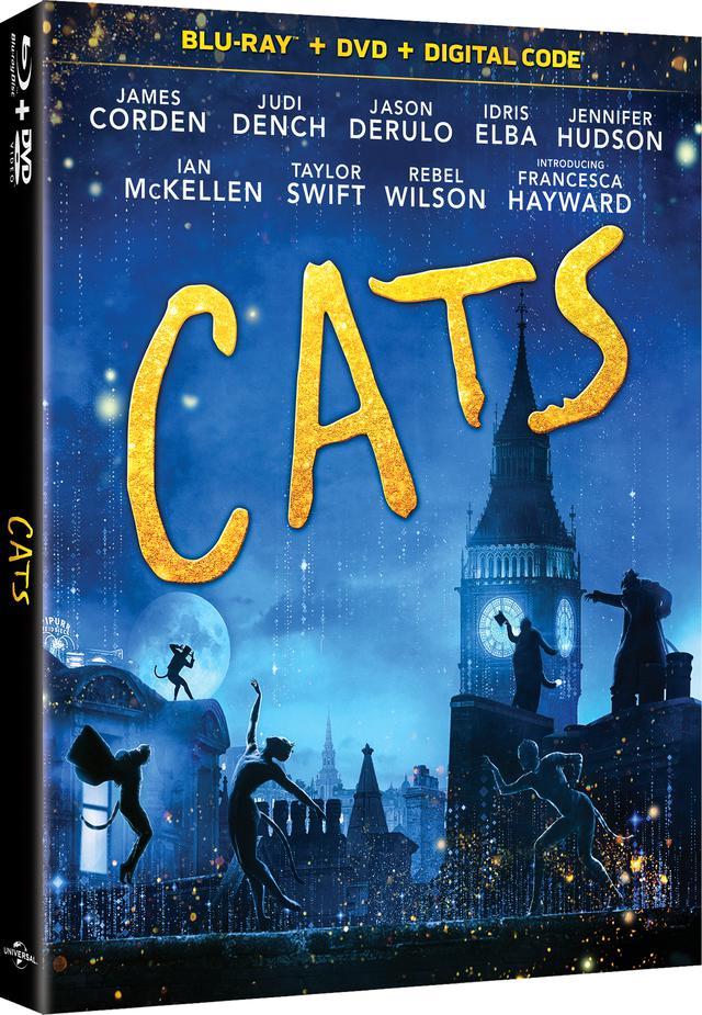 画像1: 名作ミュージカルを映画化『キャッツ』【海外盤Blu-ray発売情報】