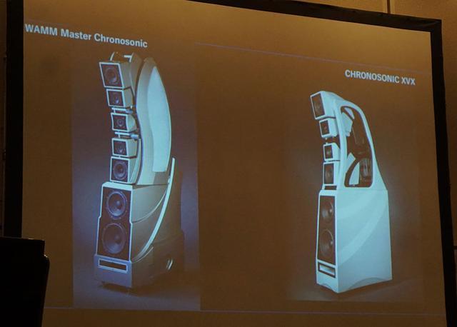 画像: 「Chronosonic XVX」は日本未発売の「WAMM Master Chronosonic」の伝統を受け継いでいる