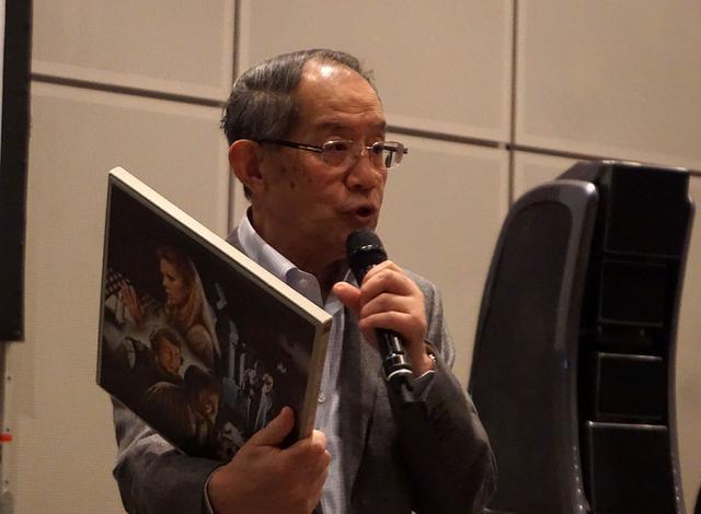 画像: お気に入りレコードを多数再生してくれた西川会長