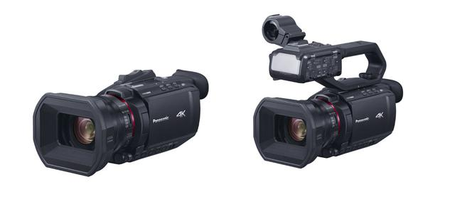 画像: 「HC-X2000」(右)と「HC-X1500」