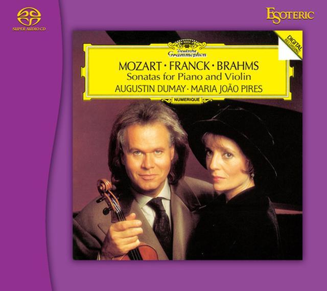 画像: モーツァルト、フランク&ブラームス:ヴァイオリン・ソナタ集(SACD/CD)ESSG-90219 ※予約商品・3月13日以降順次発送予定