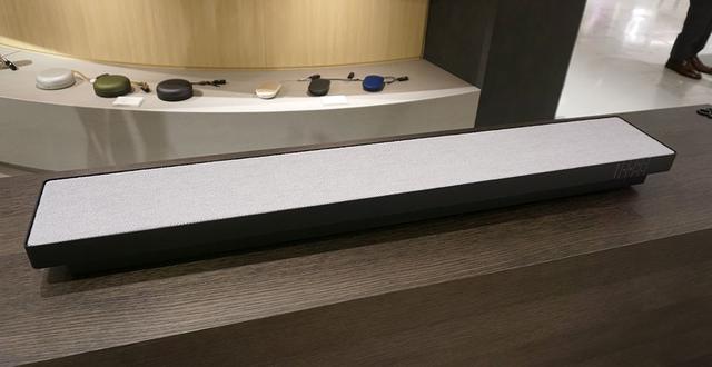 画像: 「BeoSound Stage」は、サランネットの素材にKARIMOKUの家具に似合う柄をチョイスしている