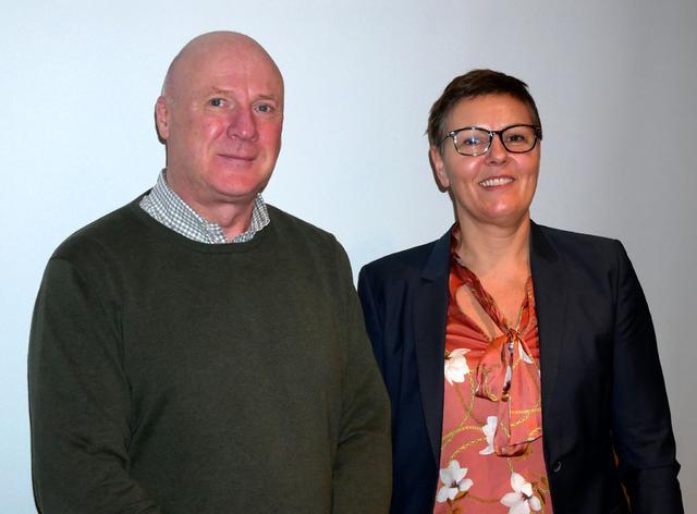 画像: 来日したaudiodoのCEO・Jenny・stromberg氏(右)と、同VP Sales Tord・Nyblues氏