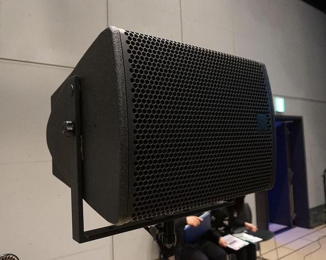 画像: スピーカーはドイツ、コーダオーディオのアクティブ型が使われていた