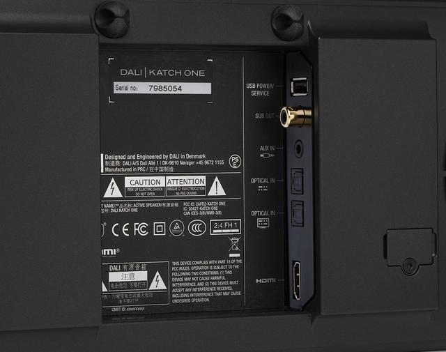 画像2: デンマークDALIのスマートなサウンドバー「KATCH ONE」が2月下旬に日本でも発売。合計10基のユニットを内蔵し、迫力あるTVシアターを実現