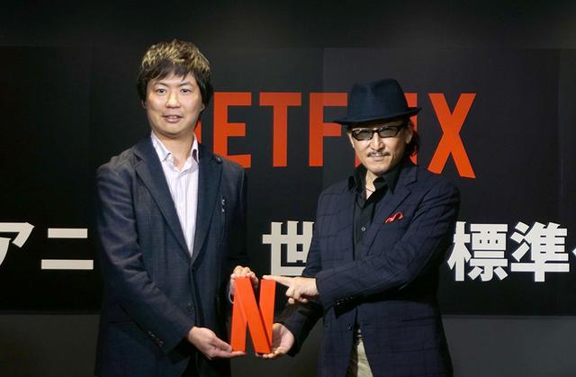 画像: 右が小説家・漫画原作者の樹木 伸氏で、左はNetflixアニメチーフプロデューサーの櫻井大樹氏