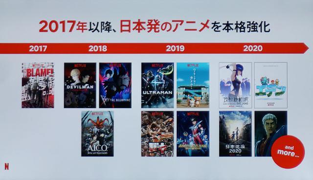 画像1: Netflixが日本を代表するクリエイター6名とのパートナーシップを発表。新たなアニメーション作品のオリジナル企画・制作をスタートする