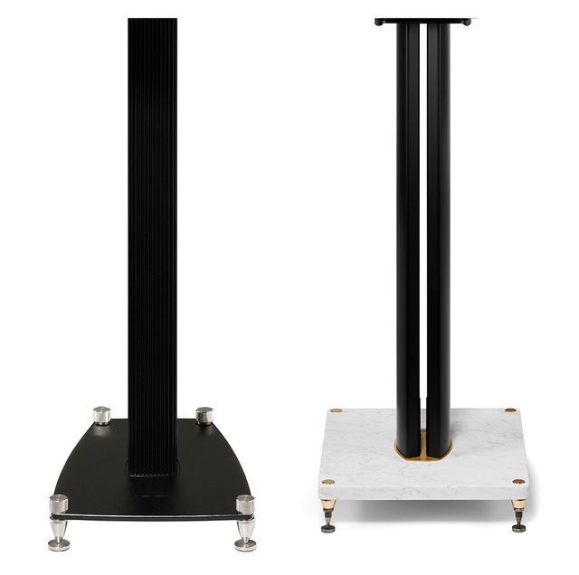画像: 左が「Stand Olympica NOVA」で右は「Carrara Stand」。Carrara Standは「Electa Amator III」用のスタンドを単体として発売する