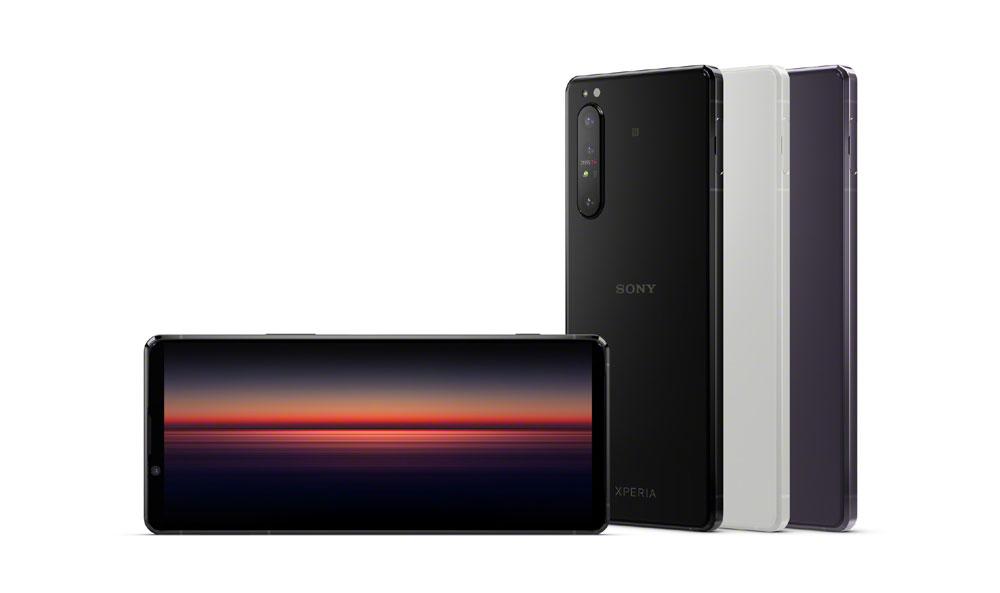 画像1: ソニー、5G対応のフラッグシップスマートホン「Xperia 1 II」を今春発売。映像制作の現場で役立つ5Gミリ波帯対応デバイス「Xperia PRO」の開発発表も
