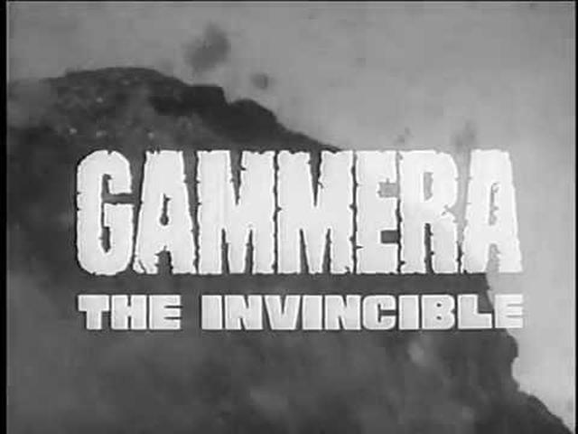 画像: Gammera the Invincible (1966) - American Theatrical Trailer www.youtube.com