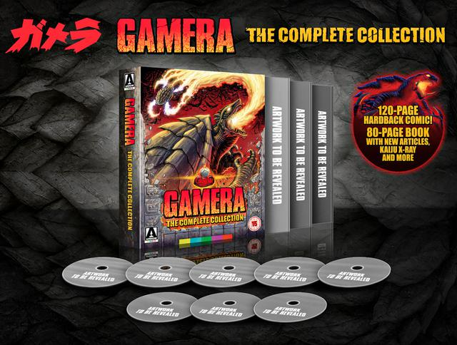 画像: GAMERA: THE COMPLETE COLLECTION - DELUXE BLU-RAY BOX SET OF THE ENTIRE GAMERA MOVIE SERIES