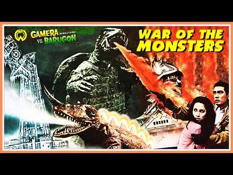 画像: Gamera Vs Barugon (1966) Japanese Trailer - Color / 2:37 mins www.youtube.com