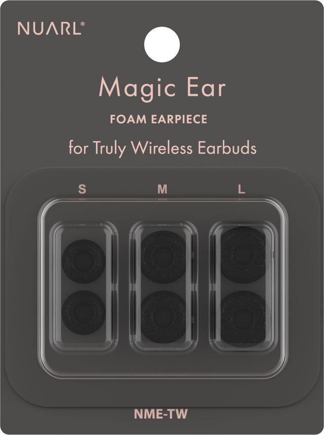 画像1: NUARL、完全ワイヤレスイヤホン専用イヤーピース「Magic Ear TW」を発売。フォーム+シリコンの利便性をコラボした逸品