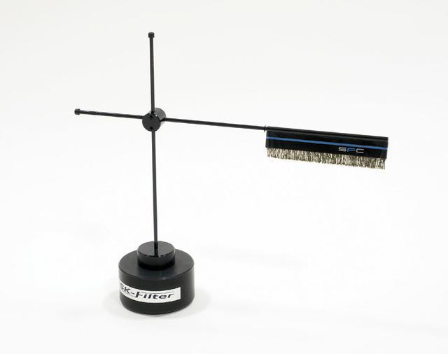 画像2: ナスペック、4月20日よりSFC社の製品取り扱いを開始。ラインナップは静電気除去ブラシ「SK-3 RHODIUM」、帯電イレイサー「SK-FILTER」