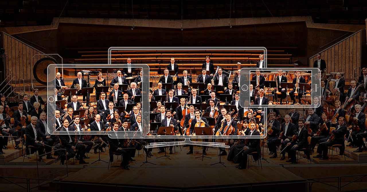画像: The Berliner Philharmoniker's Digital Concert Hall