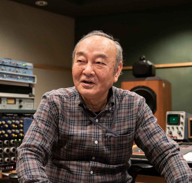 画像: 本作のマスタリングは、㈱日本コロムビアのチーフ・エンジニア武沢 茂さんが担当している。