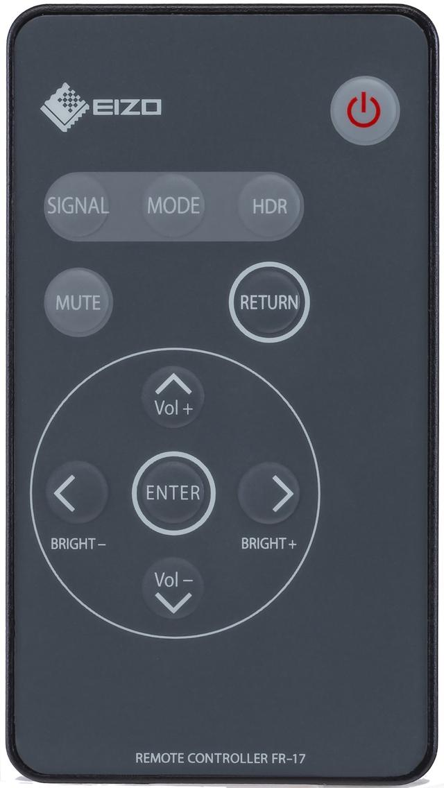 画像: 画質の調整は、リモコンの「SIGNAL」「MODE」「HDR」で行なう