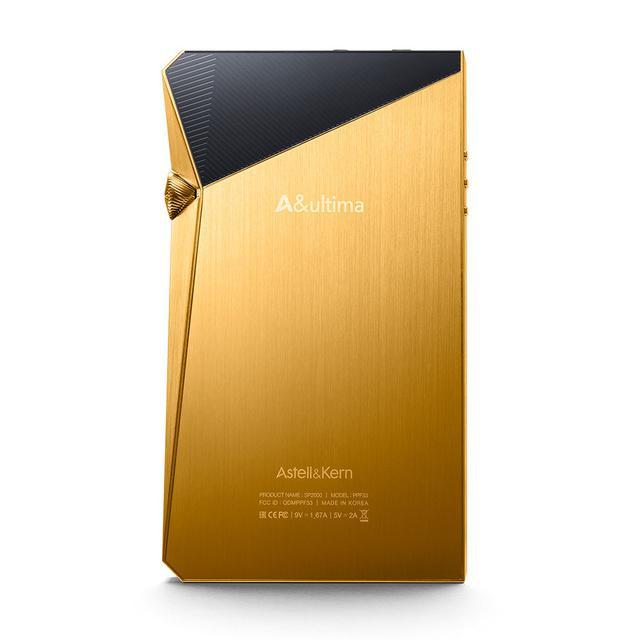 画像1: Astell&Kern、フラッグシップ「A&ultimaSP2000」の限定カラーモデル「A&ultimaSP2000 VegasGold」を、4月18日に、日本国内 50台限定で発売。479,980円