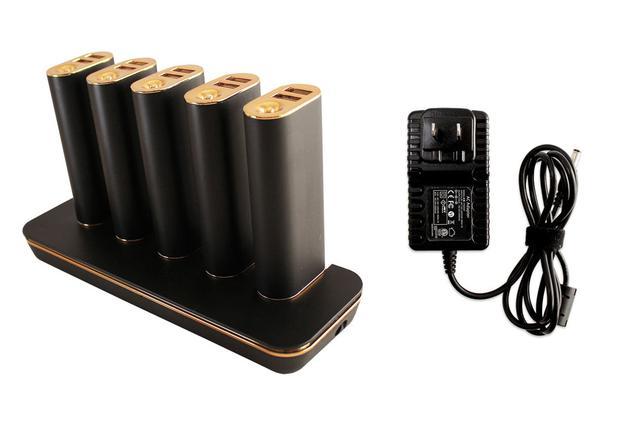 画像: オウルテックから、用途別に使えるステーション型のモバイルバッテリーセット「OWL-LPB50SET」が発売