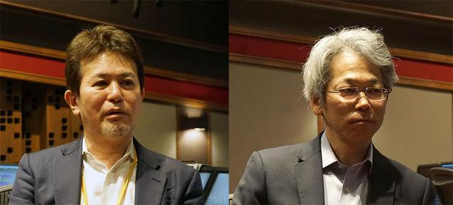 画像: 取材に協力いただいたおふたり。左が日本放送協会 編成局 編成センター(4K・8K普及推進) 専任部長 清藤 寧(せいとう やすし)さんで、右はスカパーJSAT株式会社 メディア事業部門 メディア事業本部 LIFE事業部 サービス開発主幹 今井 豊さん