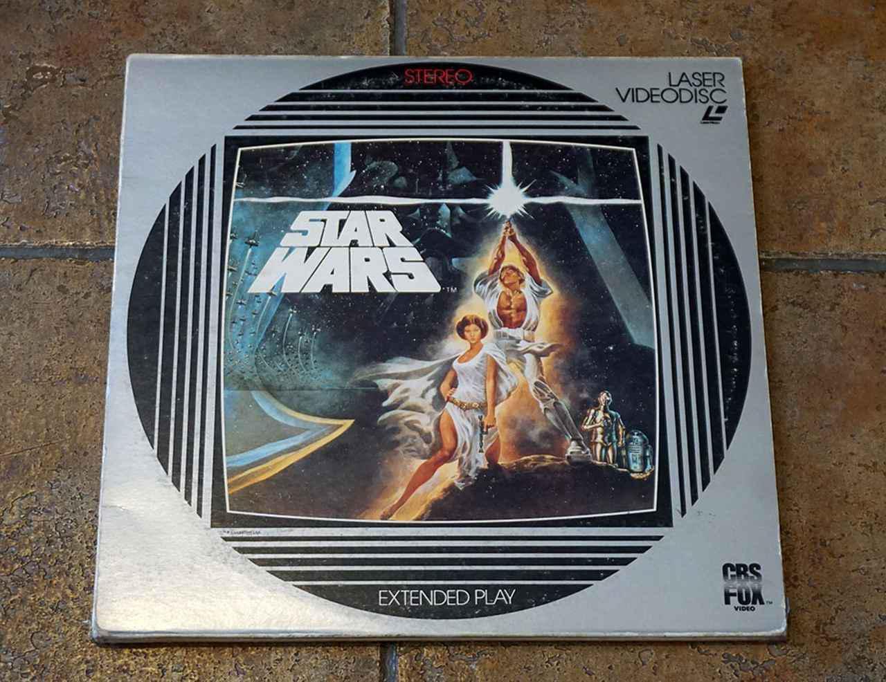 画像: 1983年発売の『EP4』レーザーディスク