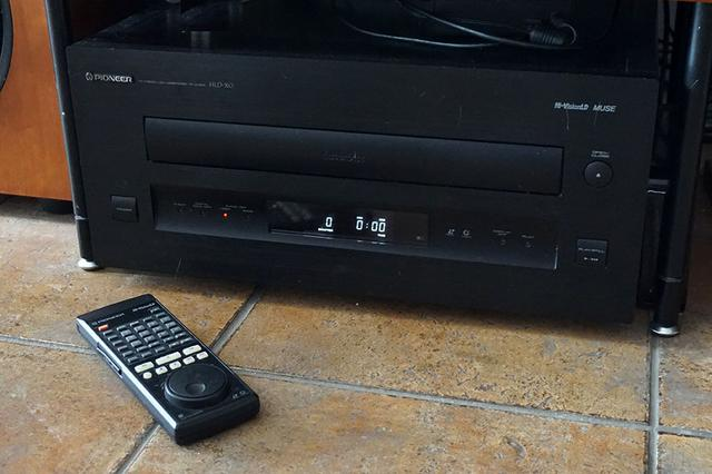 画像: わが家ではLDプレーヤーの「HLD-X0」が現役で頑張ってくれています