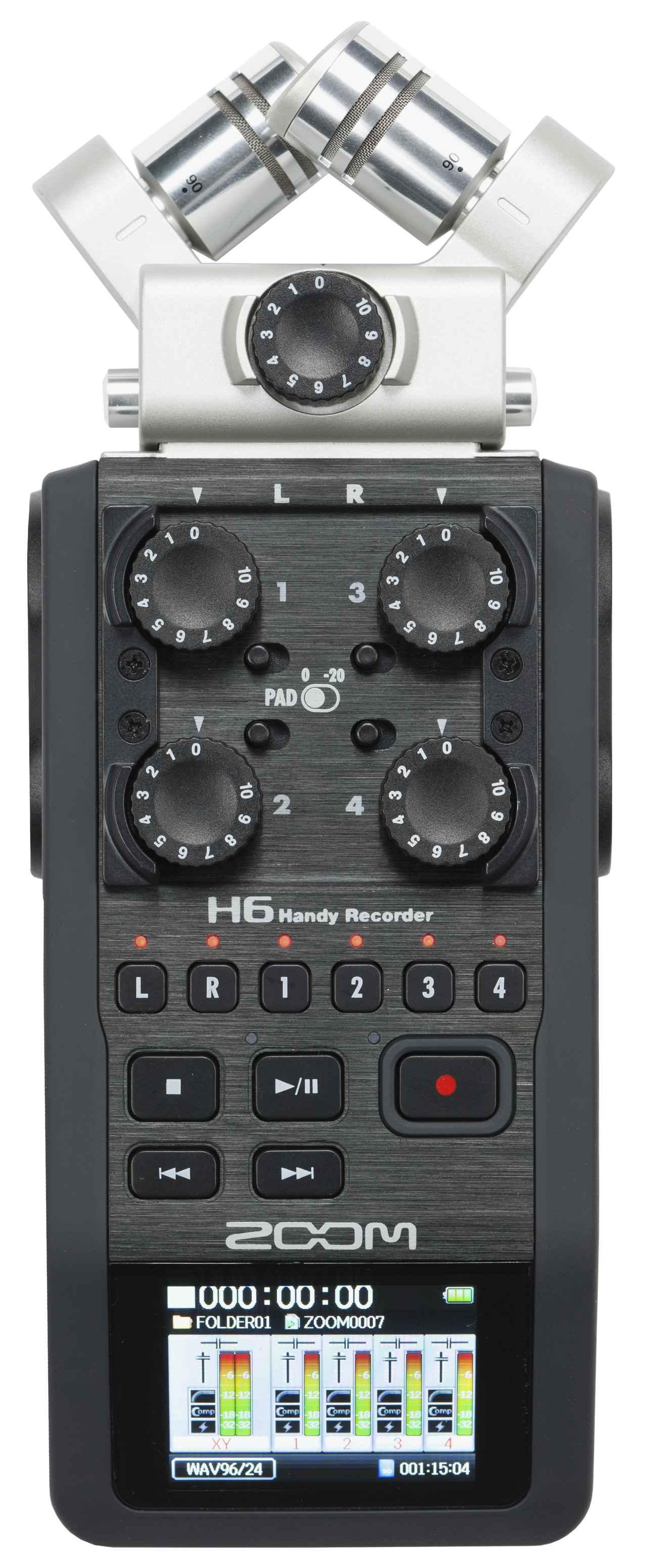 画像: Zoom H6 Handy Recorder