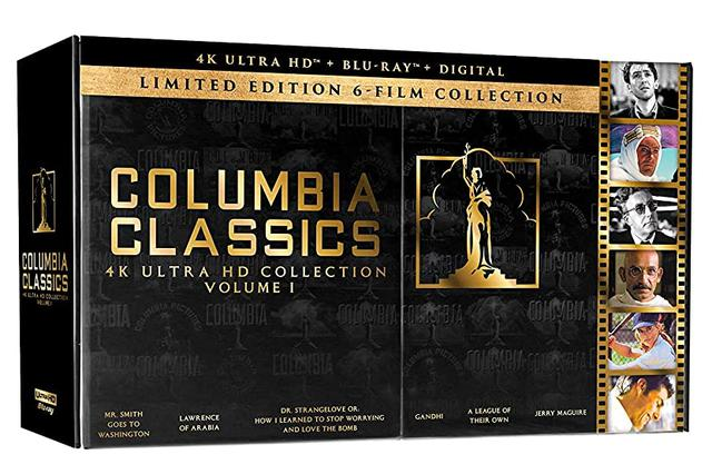 画像1: COLUMBIA CLASSICS COLLECTION: VOLUME 1 - 4K UHD BLU-RAY with DOLBY ATMOS and DTS-HD MA
