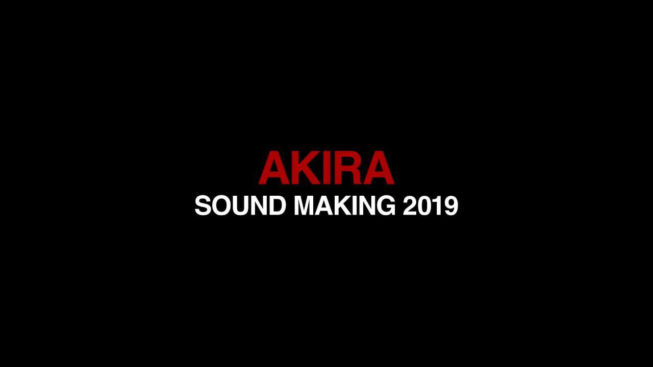 画像: 「AKIRA 4Kリマスターセット」発売記念特番『AKIRA SOUND MAKING 2019』 youtu.be