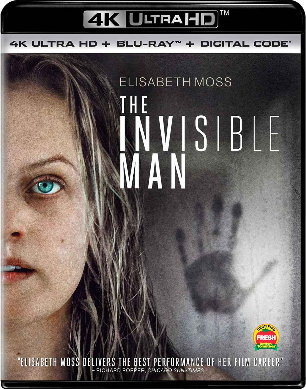 画像1: ユニバーサル・モンスター映画をリブート『透明人間』【海外盤Blu-ray発売情報】