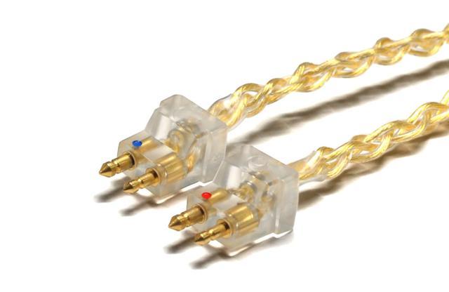 画像: NOBUNAGA Labs、純銀線+金メッキ加工のリケーブル「SUPREMEシリーズ」にFitEar専用モデルが登場。4月10日から発売