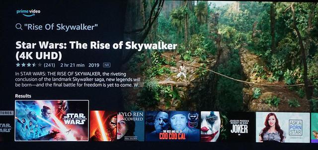 画像: 北米のアマゾンPrime Videoでは4K/HDRの『スカイウォーカーの夜明け』も配信中。なんだけど、ここはぐっとこらえてUHDブルーレイパッケージを待つことに