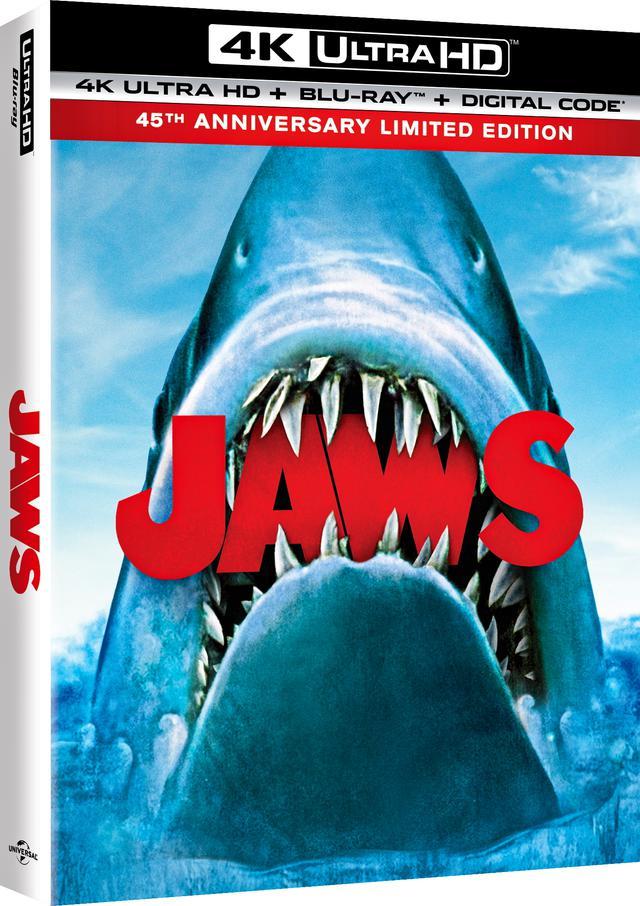 画像1: 《UPDATE》スピルバーグの大傑作が4K化『JAWS/ジョーズ:45周年記念版』【海外盤Blu-ray発売情報】