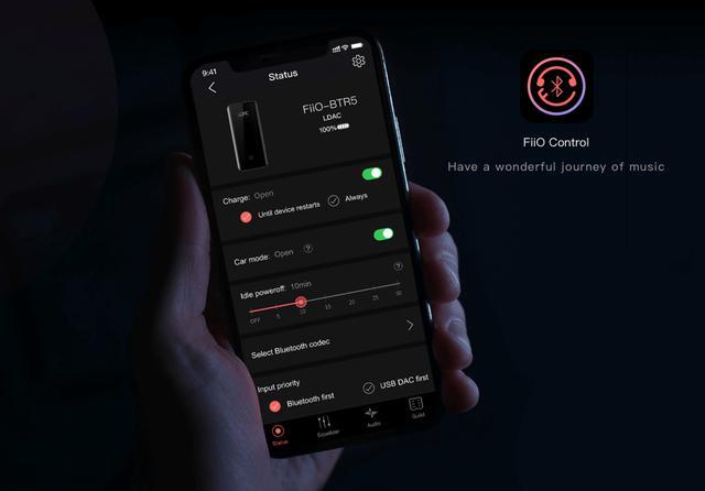 画像: Bluetoothコントロールアプリ「FiiO Control」リリースのご案内 – Fiio Japan