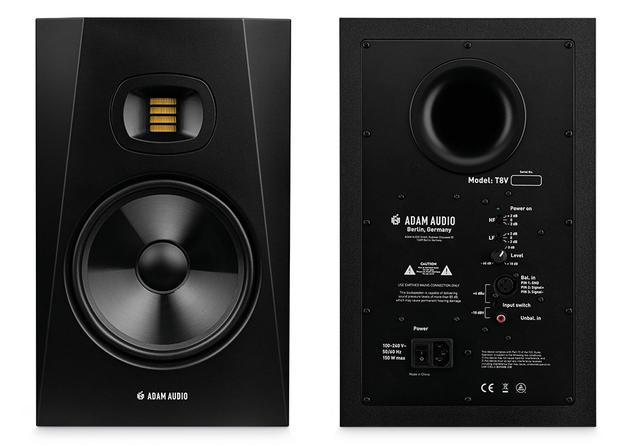 画像: リボントゥイーターと8インチウーファーを搭載したドイツ、ADAM Audioのニアフィールドモニター「T8V」。5月下旬に日本で発売