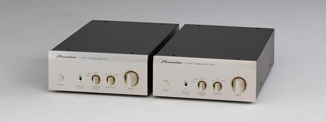 画像1: フェーズメーションEA550 & T1000試聴。モノーラル筐体らしい深遠な音場空間に、立体的な音像が浮かぶ