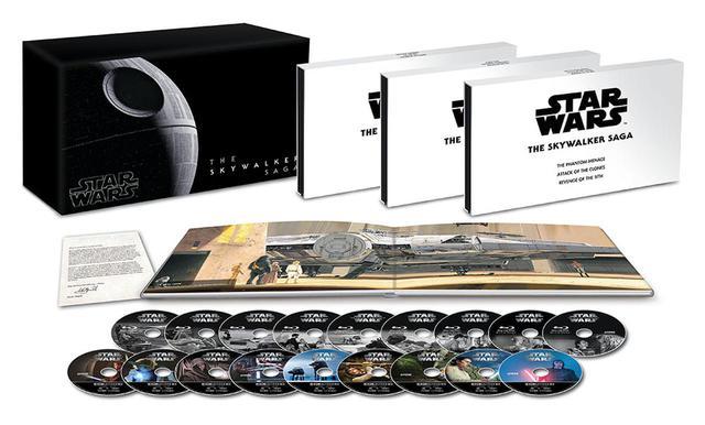 画像: 『スター・ウォーズ スカイウォーカー・サーガ 4K UHD コンプリートBOX(数量限定)』(¥50,000、税別) amzn.to