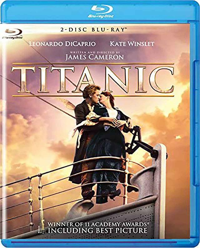 画像: 『タイタニック<2枚組>Blu-Ray』¥1,905(税別)