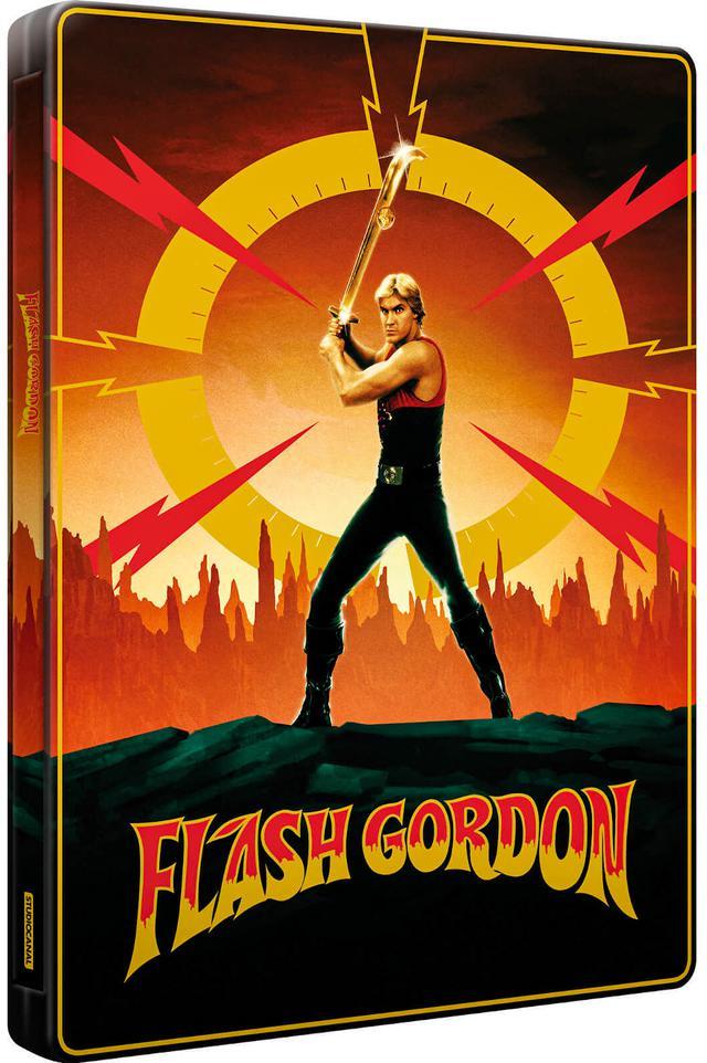 画像: FLASH GORDON:STEELBOOK(UK=Zavvi Exclusive SteelBook/US=TBA)