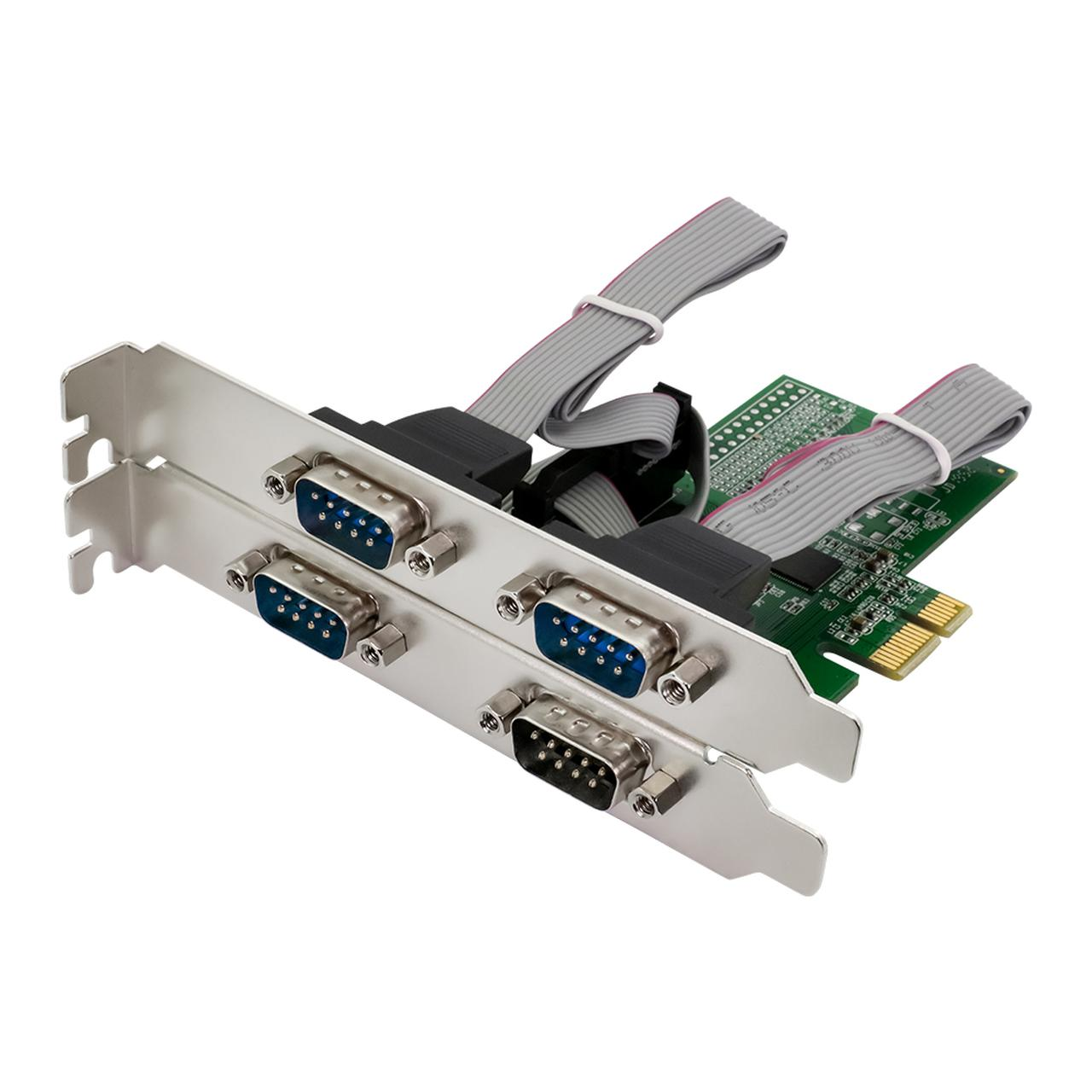 画像: PCI-Express2.0接続 RS232×4ポート インターフェースカード OWL-PCEX2RS232X4 | 株式会社オウルテック