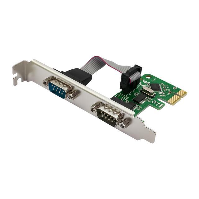 画像: PCI-Express1.1接続 RS232×2ポート インターフェースカード OWL-PCEX1RS232X2 | 株式会社オウルテック