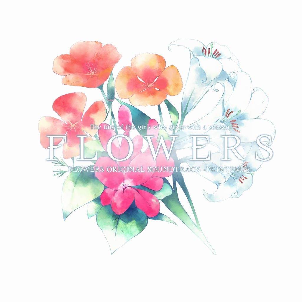 画像: FLOWERS ORIGINAL SOUNDTRACK 『PRINTEMPS』 / MANYO , 霜月はるか , 鈴湯