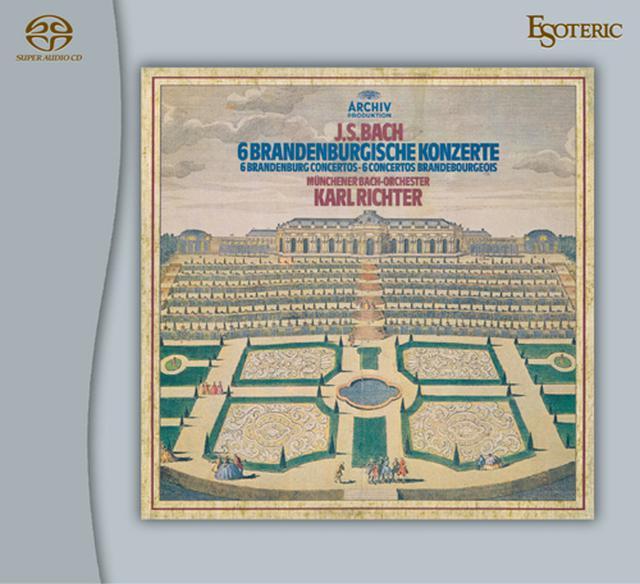 画像: J.S.バッハ:ブランデンブルク協奏曲(全曲)(SACD/CD・2枚組)ESSA-90221/2 ※予約商品:6月9日頃より順次発送予定