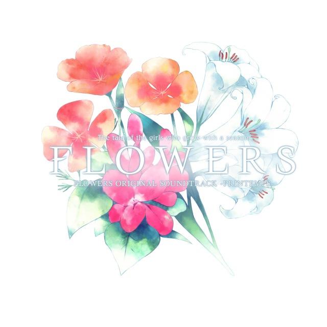 画像: FLOWERS ORIGINAL SOUNDTRACK 『PRINTEMPS』 / MANYO, 霜月はるか, 鈴湯 on OTOTOY Music Store