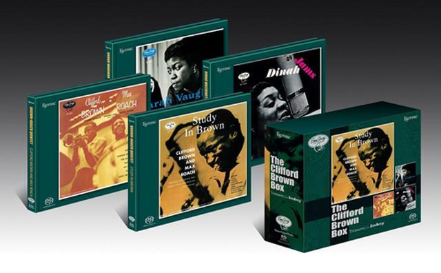画像: クリフォード・ブラウンBOX(SACD/CD・4枚組)ESSE-90223/6 ※予約商品:6月9日頃より順次発送予定