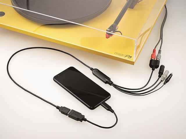画像: PCレスで、簡単に懐かしい音楽を復刻できる。アイ・オー・データのスマホ用アナログレコーダー「ADレコ」は、ポータブルオーディオファン必携のアイテムだ - Stereo Sound ONLINE