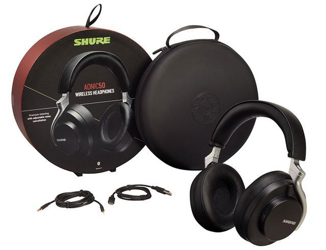 画像: Shure、ノイズキャンセリング機能対応の、ブランド初のワイヤレスヘッドホン「AONIC 50ワイヤレス・ノイズキャンセリング・ヘッドホン」を発売