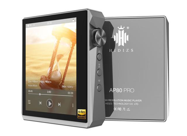 画像1: HIDIZS、「ESS ES9218P」をデュアルで搭載し、2.5mmバランス出力を備えたDAP「AP80Pro」を5月22日に発売