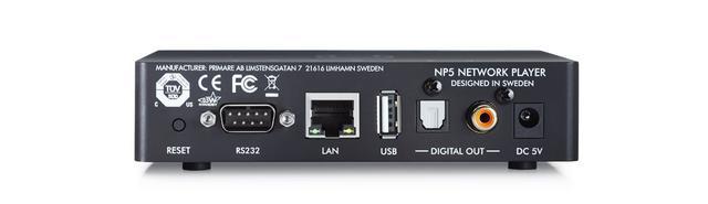 画像2: PRIMARE、ネットワークプレーヤー「NP5 PRISMA」、オプション・モジュール「DM35」「SM35」を5月20日に発売